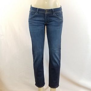 Hudson Cropped Staightleg Jeans